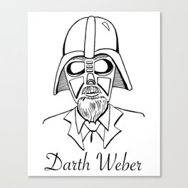 Darth Weber  Canvas Print