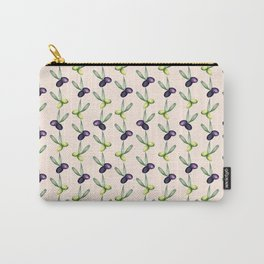 Olives Pattern Carry-All Pouch