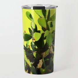 Cactus fruit & yellow Travel Mug