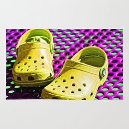Pop Art Crocs By Sharon Cummings Rug