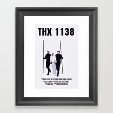 THX 1138 Movie Poster Framed Art Print