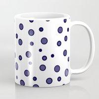 dots Mugs featuring Dots by Monika Strigel