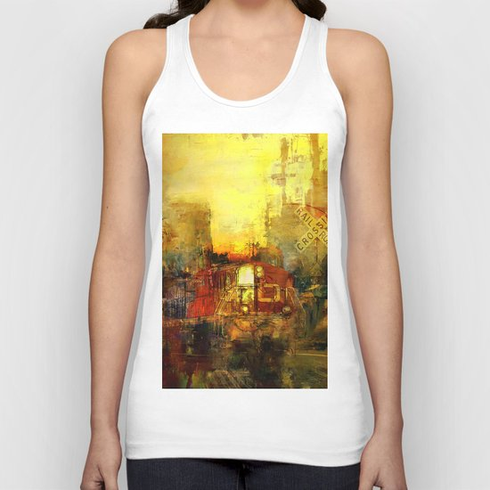 The trein from nowhere Unisex Tank Top