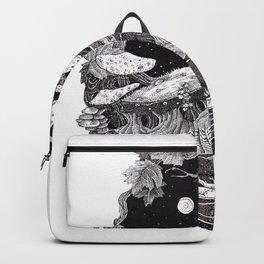 pure human nature #society6 Backpack