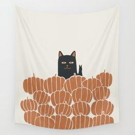 Hidden cat 46 peacefull  Wall Tapestry