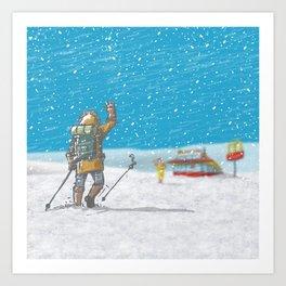 Freeze Art Print