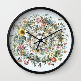 Circle of Life in  Blue Wall Clock