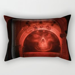 Witching hour in the House of Dead Rectangular Pillow
