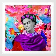 Freeda Art Print