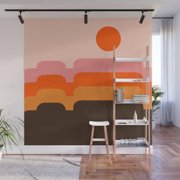 Honey Hills Wall Mural