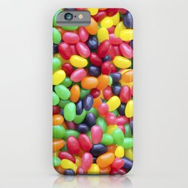 Jelly Bean Candy Photo Pattern iPhone Case
