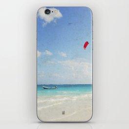 Carribean sea 4 iPhone Skin