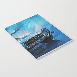 Legendary car 300SL «Gull-wing» Notebook