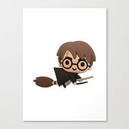 Little Wizard Canvas Print