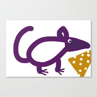cheese Canvas Prints featuring Cheese? by Stephanie Cole CREATIONS