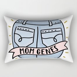 Mom Jeans Rectangular Pillow