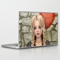 valentines Laptop & iPad Skins featuring Valentines Day by Design Windmill