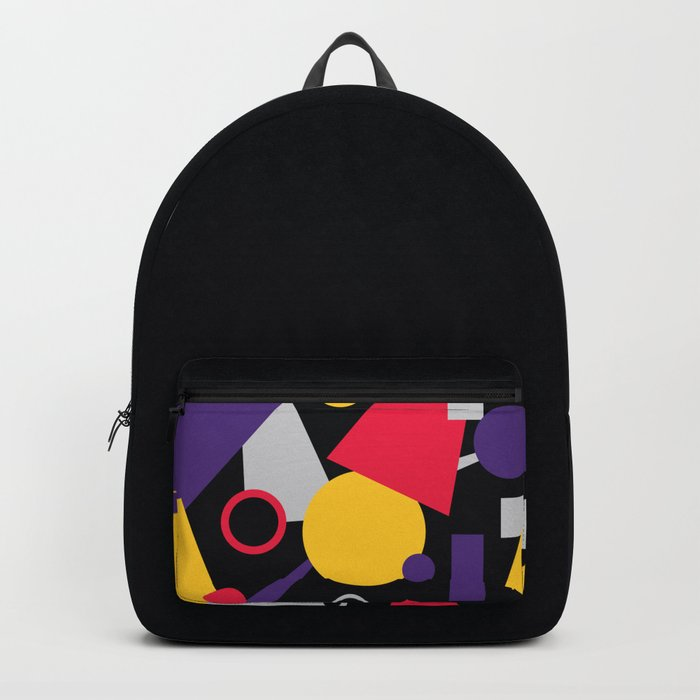 Geometric cocktail Backpack