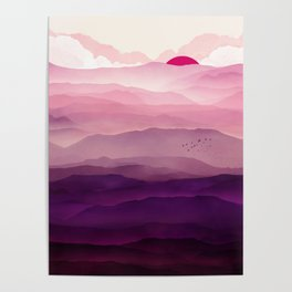 Ultra Violet Day Poster