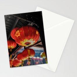 Red Lanterns Stationery Cards