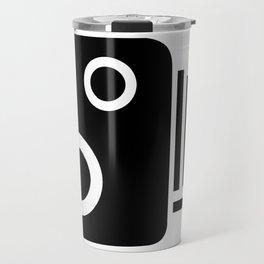 Isolated Speed Camera Travel Mug