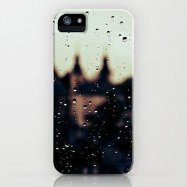 rainy day iPhone Case