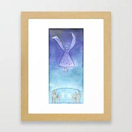 Tarot 20: Judgment Framed Art Print