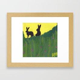 Young Peter Rabbit - Panel 3 Framed Art Print