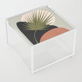 Tropical Leaf- Abstract Art 5 Acrylic Box