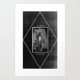 Magus Art Print