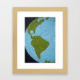 worldly Framed Art Print
