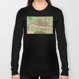 A Modern Map of London Long Sleeve T-shirt