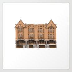 Packard Apartments - Warren OH Art Print
