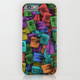 parts of the face iPhone Case
