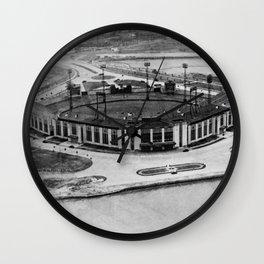 Roosevelt Stadium Vintage Wall Clock