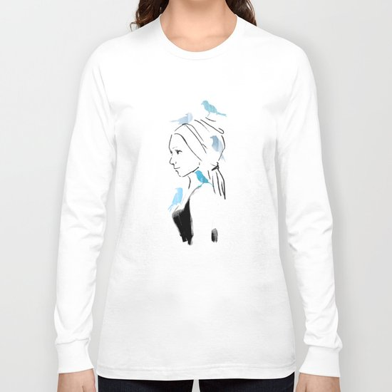 A Portrait Long Sleeve T-shirt