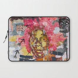 Jean-Michel Basquiat Portrait Laptop Sleeve