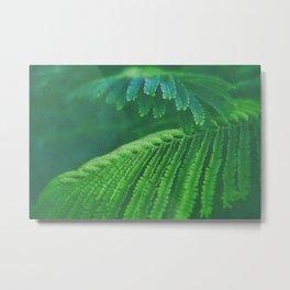 Fern leaves watercolor painting #1 Metal Print