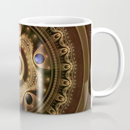 The Five Fractal Jeweled Elements of Qi Gong Coffee Mug