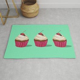 Cupcakes Vintage Rug