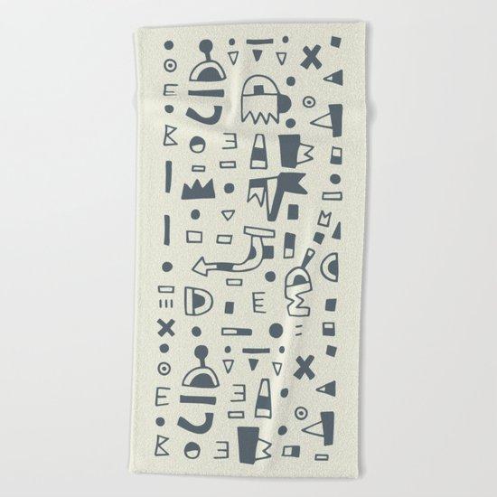 Pattern v10 Beach Towel