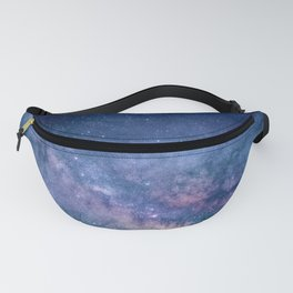 Blue Galaxy Fanny Pack