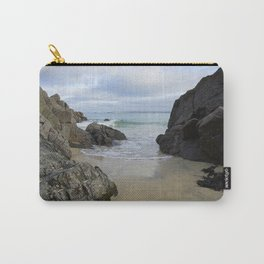 Turquoise Waves Crashing on Porthmeor Rocks Carry-All Pouch