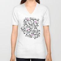 geo V-neck T-shirts featuring geo by Amanda Nicole