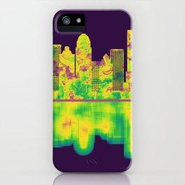 Louisville Kentucky Skyline iPhone Case
