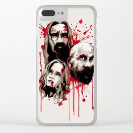 Cleansing Of The Wicked Clear iPhone Case