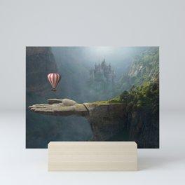 Saving Hand Art Mini Art Print