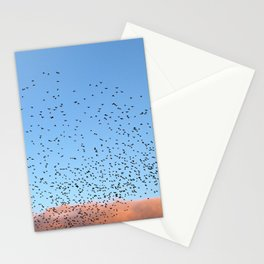 Starling Swarm Stationery Cards
