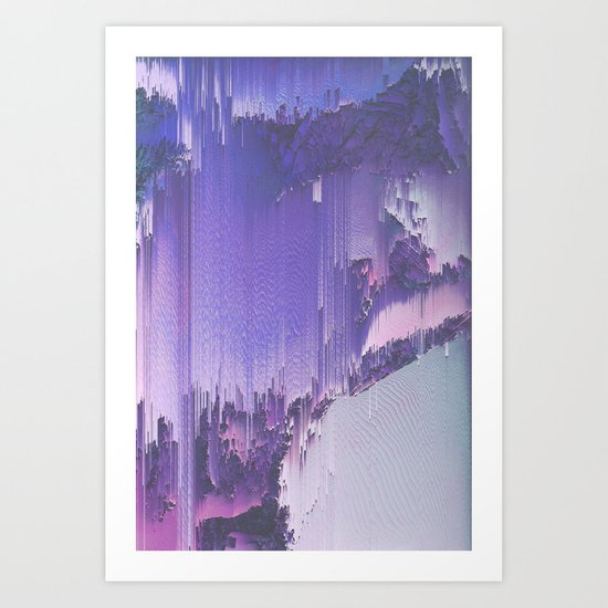 CYANURE Art Print