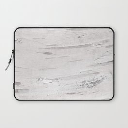 White Birch Wood Laptop Sleeve